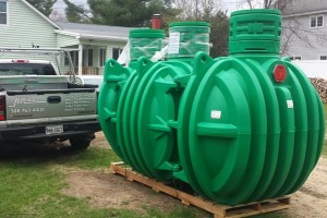 Septic Preservation Services preparing a new System for Installation!